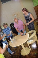 Юрий Беляев и Татьяна Абрамова в городе Арсеньев 2017