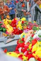 Арсеньев. 9 мая 2018. Возложение цветов и венков