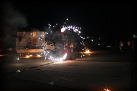 Автомобильная вечеринка под открытым небом
