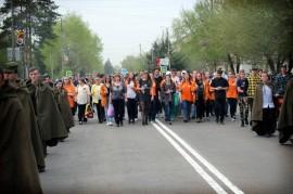 Факельное шествие Арсеньев