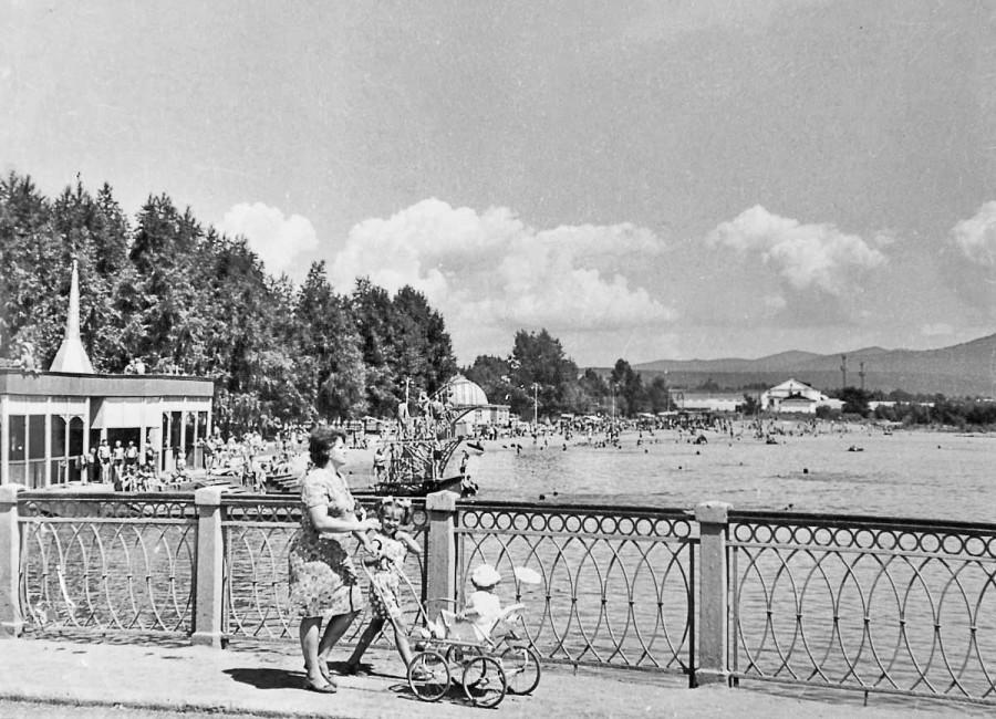 Арсеньев. Городской бассейн, 1974 год