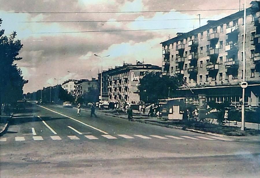 Арсеньев. Улица Калининская 1970-е годы