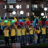 открытие фонтана в Арсеньеве