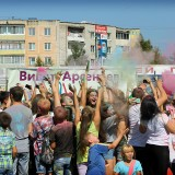 Фестиваль красок холи. Арсеньев. 2015
