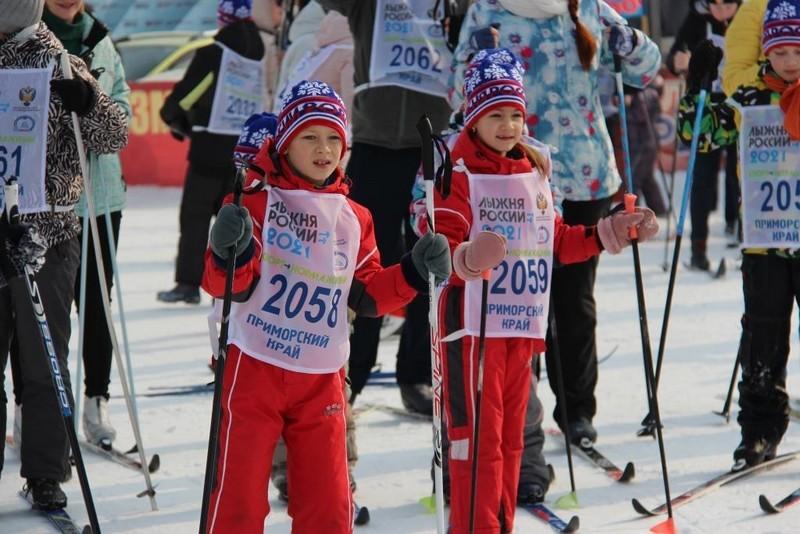 «Лыжня России - 2021» в Арсеньеве
