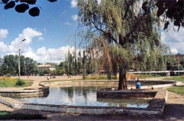 Арсеньев. Вид на Комсомольскую площадь
