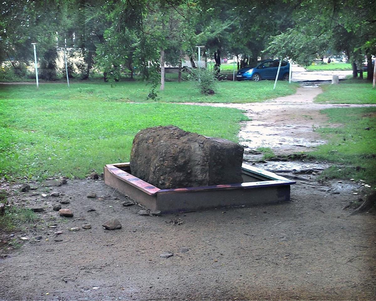 Суровые Арсеньевские песочницы. Калининская 10 А (фото Евгений К.)