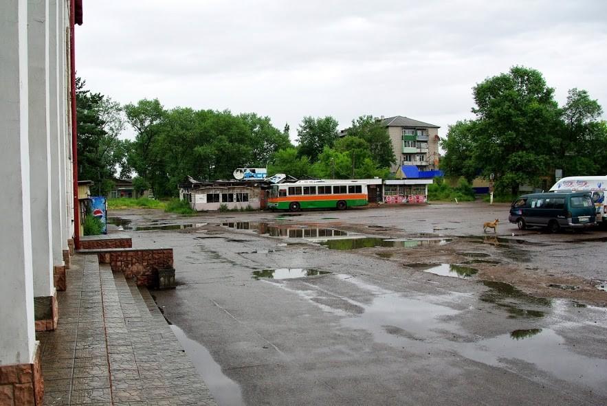 Арсеньев. Вокзал. 2013 год