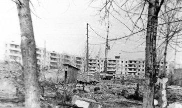 Арсеньев. Застраивается Комсомольский квартал