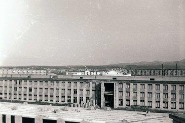 Арсеньев 1968 год - авиационный техникум
