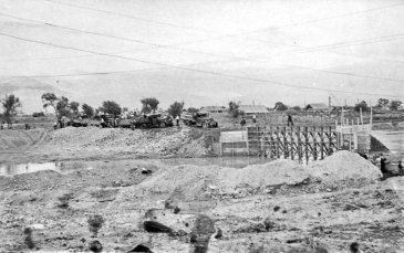 Арсеньев. Строительство бассейна. 1954 год
