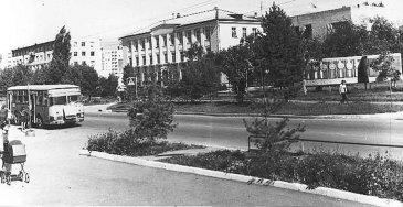 Арсеньев. Здание городской администрации.