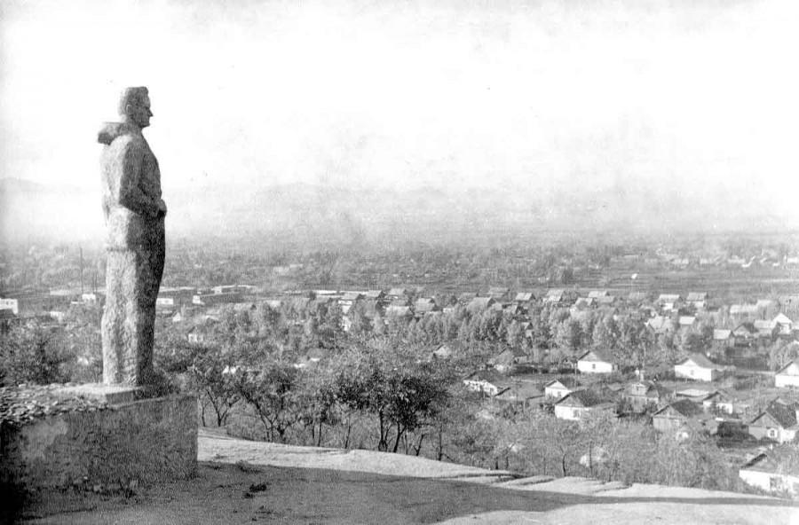 Арсеньев. Вид города с памятника