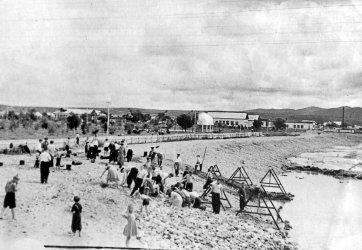 Арсеньев. Строительство бассейна на реке Дачной
