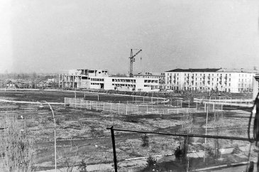 Арсеньев. Строительство 1975 года