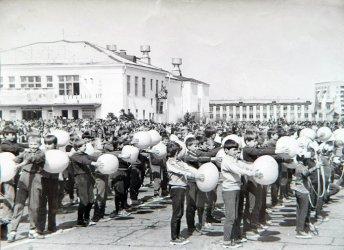 Арсеньев. Комсомольская площадь