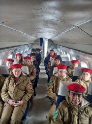 13 февраля 2021 в авиамузей с экскурсией приехали юнармейцы из Сибирцево