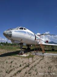 Ту-134. Авиамузей в городе Арсеньев