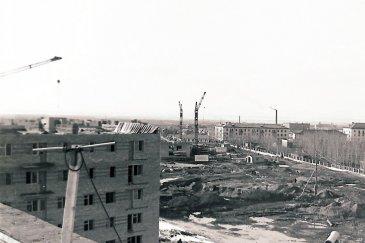 Арсеньев - улица Ломоносова 1968 год