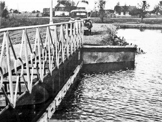 Арсеньев. Идет строительство бассейна 1954 год.
