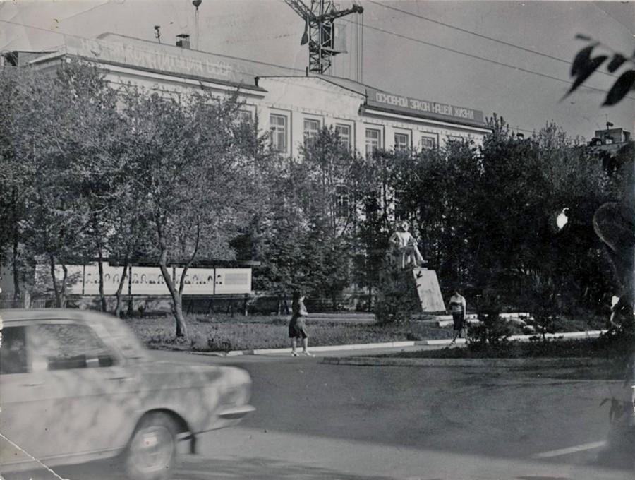 Арсеньев. Улица Ленинская