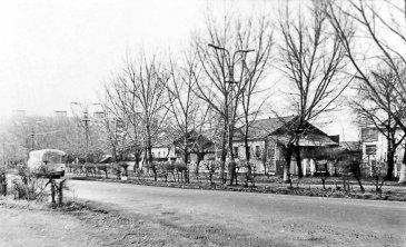 Арсеньев. Улица Жуковского, апрель 1978 года.