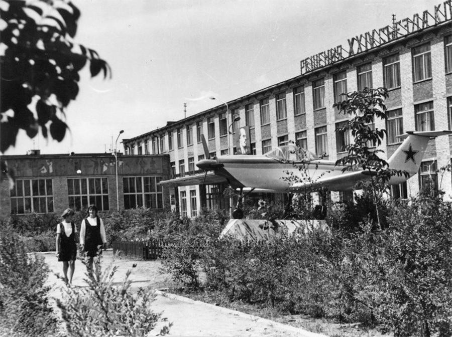 Арсеньев. Авиационный техникум 1973 год