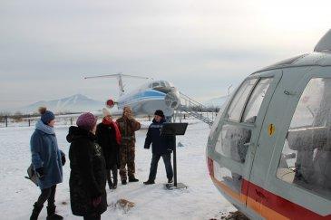 Дни открытых дверей для горожан и гостей г. Арсеньева организовали сотрудники некоммерческого партнёрства «ДВ музей авиации» сов